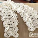 grille crochet echarpe