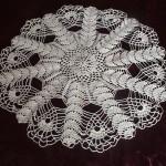 grille crochet napperon