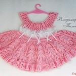 grille crochet robe