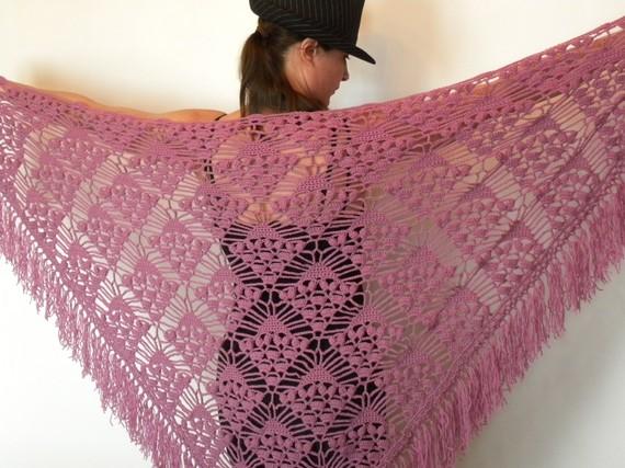 Modele crochet echarpe gratuit 17 - Modele tapis crochet gratuit ...