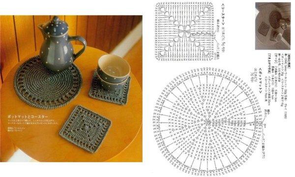 Modele Crochet Set De Table 4