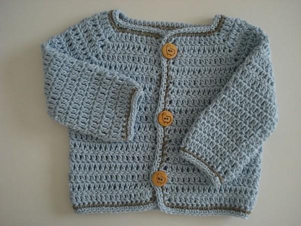 modele layette crochet facile 4. Black Bedroom Furniture Sets. Home Design Ideas