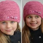 patron crochet bonnet gratuit