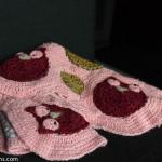 patron crochet hibou
