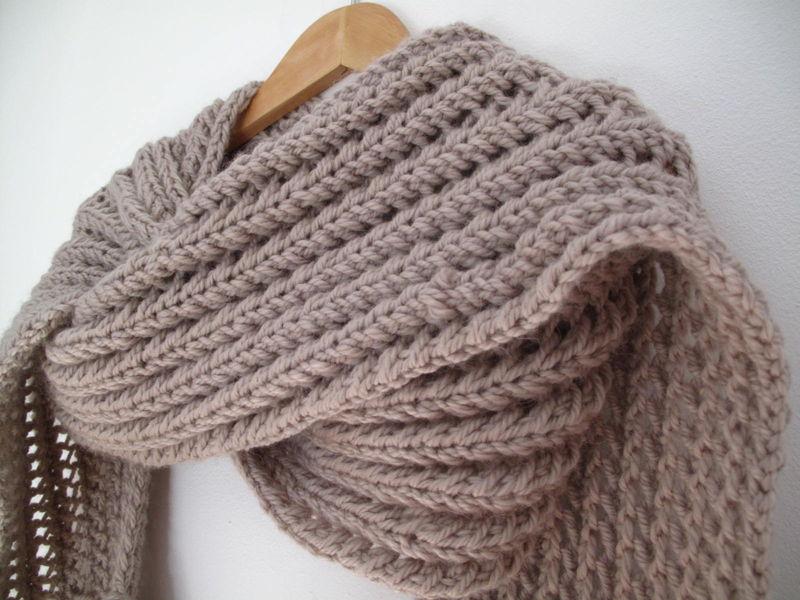 tuto crochet echarpe facile 7. Black Bedroom Furniture Sets. Home Design Ideas