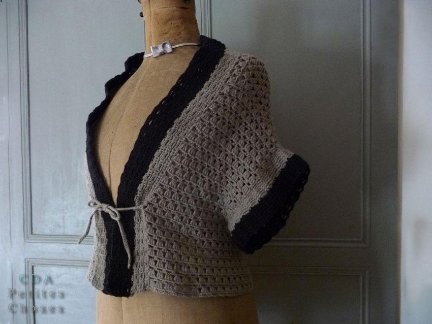 Tuto Crochet Gilet 3