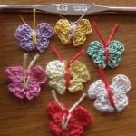 tuto crochet papillon