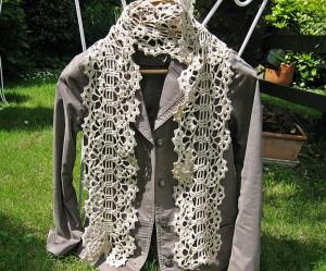modele echarpe crochet japonais
