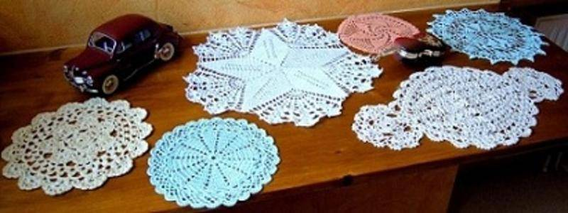 patron crochet chemin de table