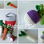 tuto crochet legumes