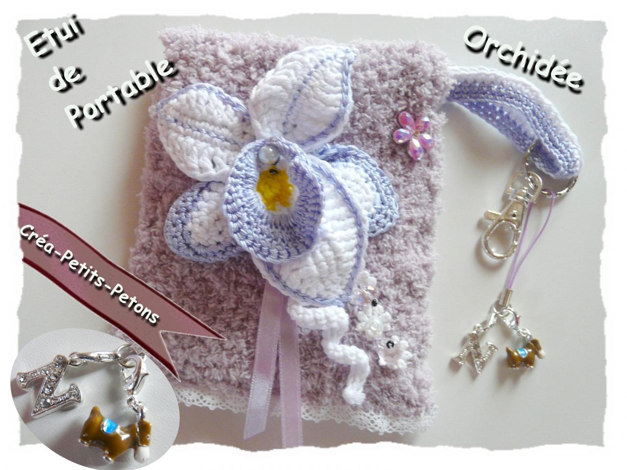 modele orchidee crochet. Black Bedroom Furniture Sets. Home Design Ideas
