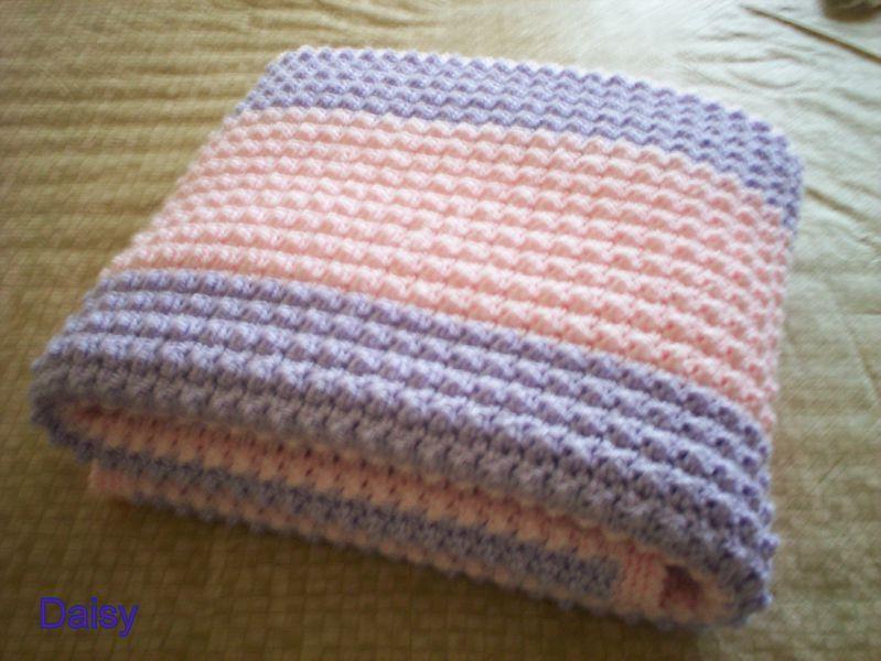 patron crochet couverture bebe 2. Black Bedroom Furniture Sets. Home Design Ideas