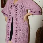patron veste crochet femme