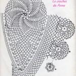 modele crochet nappe ovale