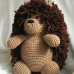 patron herisson crochet