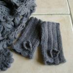 tuto crochet mitaine