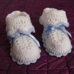 modele crochet chaussons bebe