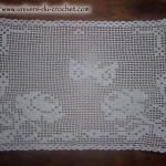 patron crochet napperon gratuit