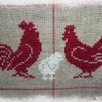 grille crochet poule